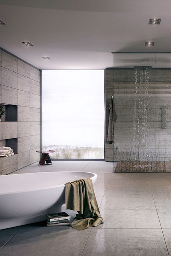 22 Modern Rain Shower Ideas For Refresh Your Body Home