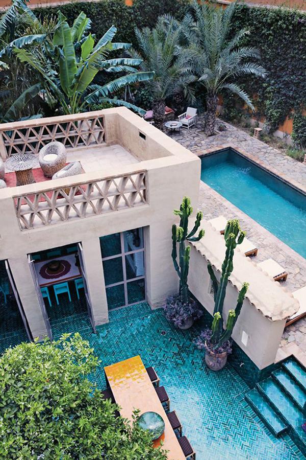 moroccan-backyard-pool-ideas on Moroccan Backyard Design id=83337
