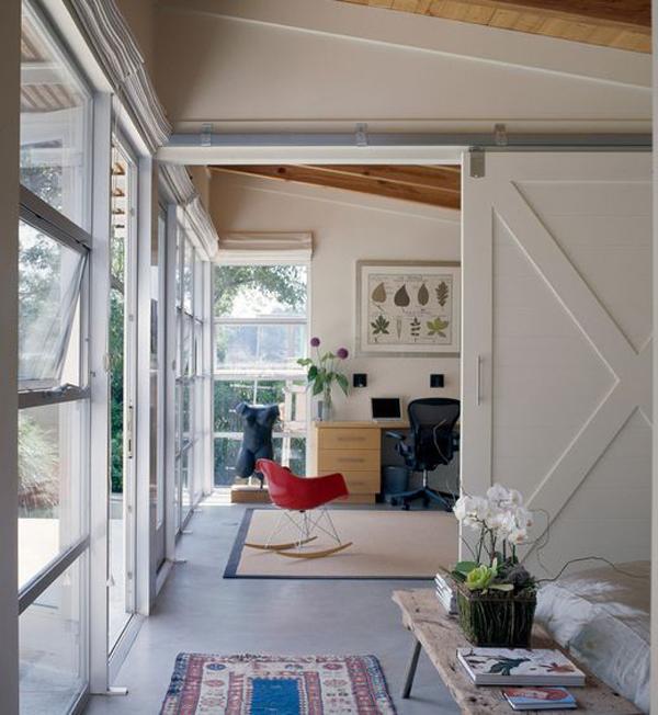 Office Sliding Barn Door Ideas