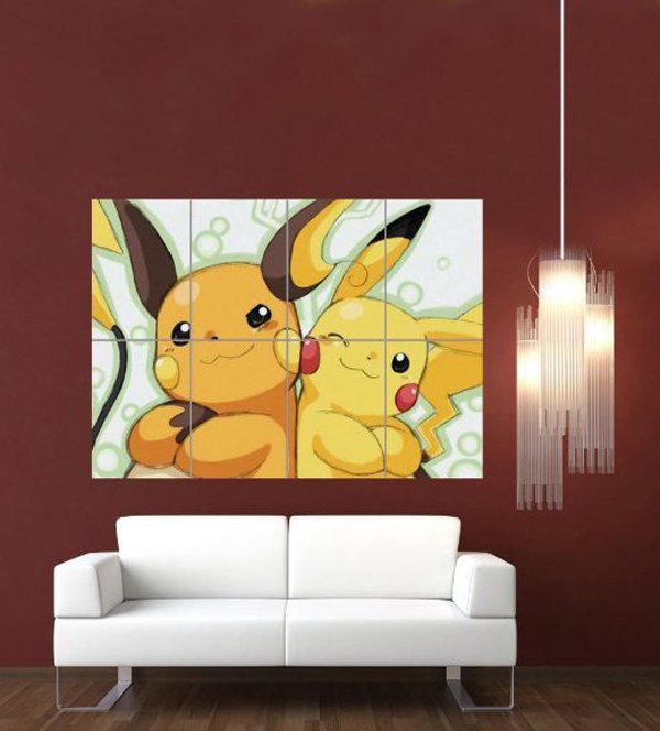 Anime Bedroom Ideas Bedroom Wall Decor Crafts Bedroom Design Of Pop Black And White Bedroom Design Inspiration: 10 Cute And Adorable Ways To DIY Pokemon