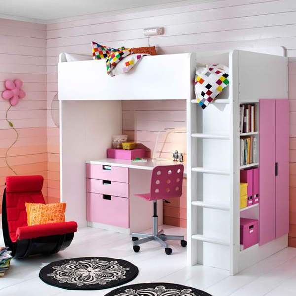 20 ikea stuva loft beds for your kids rooms home design for Sofa jugendzimmer ikea
