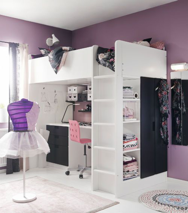 Camerette Ikea Stuva : Ikea stuva loft beds for your kids rooms home design