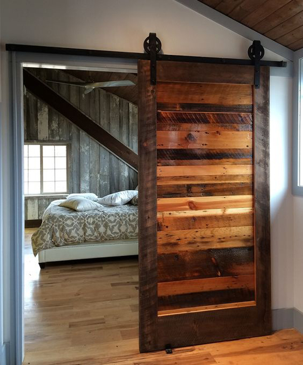 today we will review a series of design and interior decoration options that include ideas sliding barn door and i hope you will think a little differently