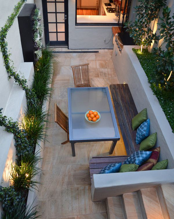20 Lovely Backyard Ideas With Narrow Space Home Design And Interior