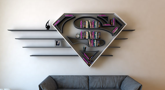 superman-bookshelf-design