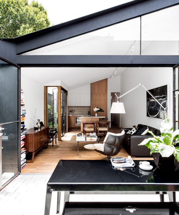 Terrace House Extension With Open Plan Spaces Home