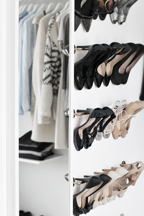 Beautiful Walk In Closet With Low Budget Home Design And Interior