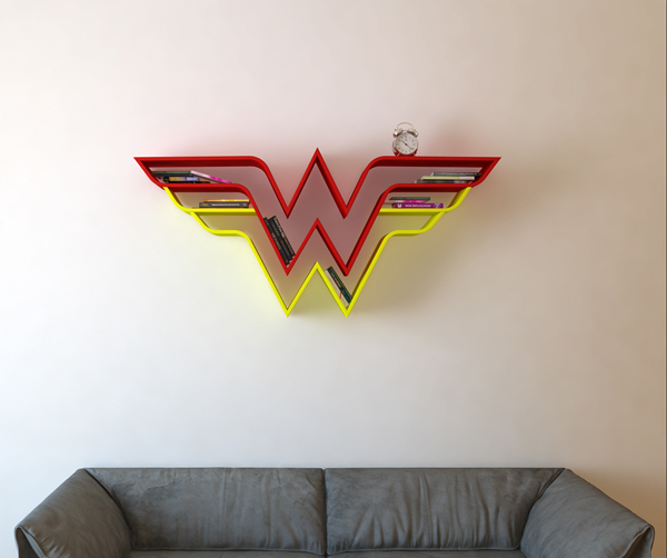 wonder-woman-bookshelf-ideas