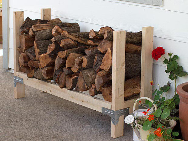 20 Excellent DIY Outdoor Firewood Storage Ideas | Home ...
