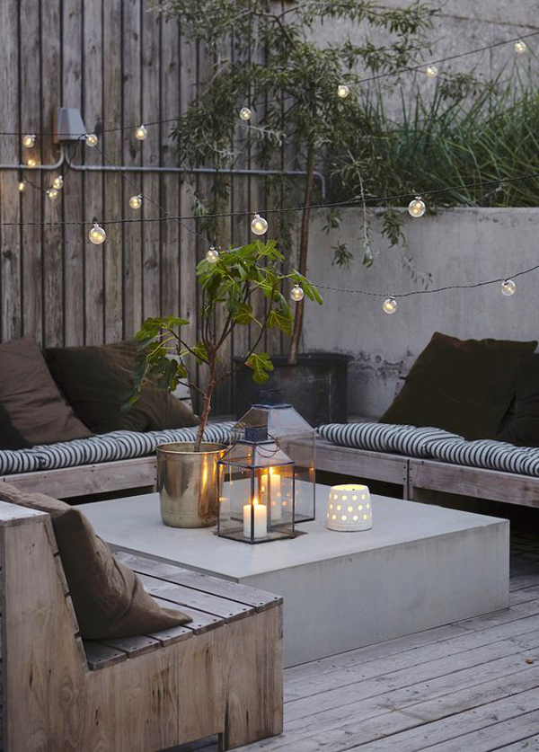 20 Amazing String Lights For Your Outdoor Patio | HomeMydesign on String Lights Backyard Ideas id=41263