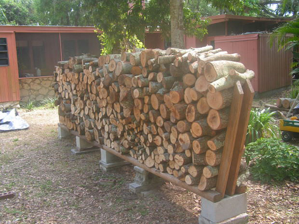 20 Excellent DIY Outdoor Firewood Storage Ideas  Home Design And ...