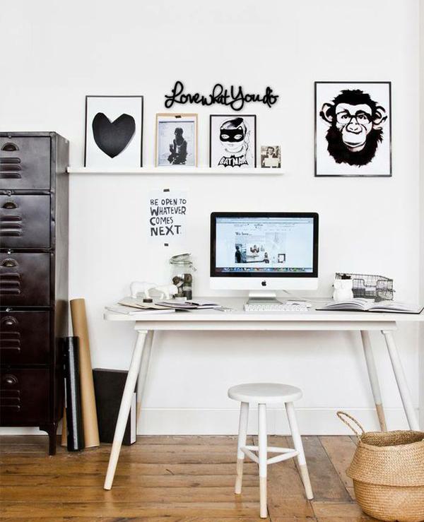 25 Youthful And Minimalist Workspace Styles