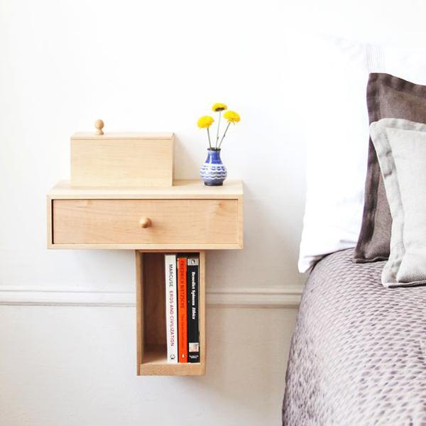 cute-drawer-nightstand-decor-ideas Nightstand Decor