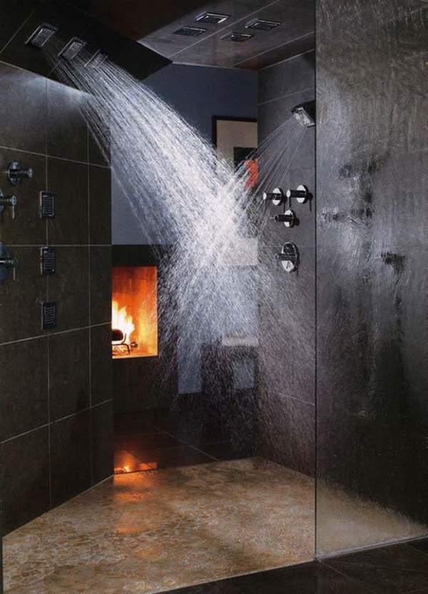 mesmerizing fancy rooms relaxing bathroom | 25 Cozy And Mesmerize Bathrooms With Fireplaces | Home ...