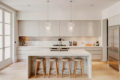 gray-kitchen-design-with-marble-accents