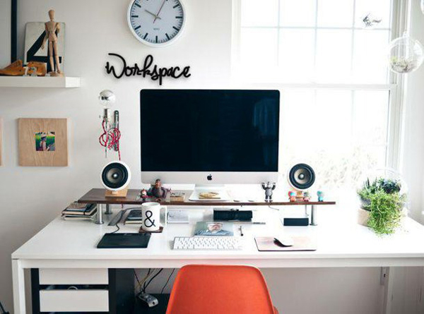 25 youthful and minimalist workspace styles home design for My minimalist home