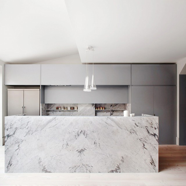 Modern-london-kitchens-with-marble-accents