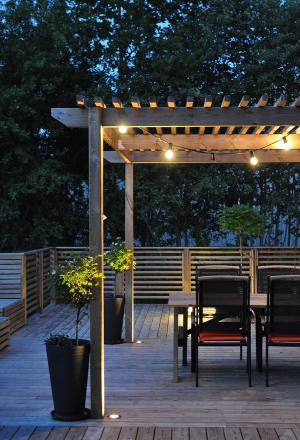 String Lights For Patio Ideas : 20 Amazing String Lights For Your Outdoor Patio Home Design And Interior