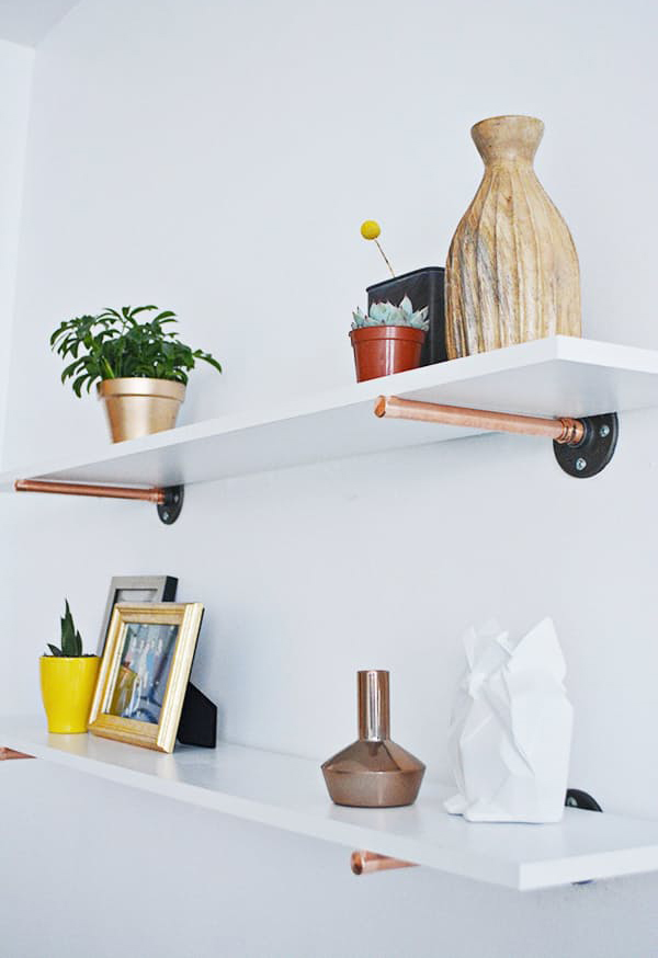 15 DIY Copper Shine In The Kitchen | Home Design And Interior