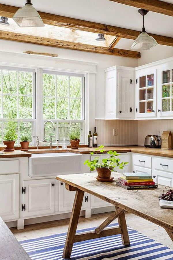 Attirant Bringing Rustic Style In Home Decorating Is Not Easy, But This Style Is  Able To Give Natural Touch Of Comfortable And Enjoyable. The Kitchen Became  One Of ...