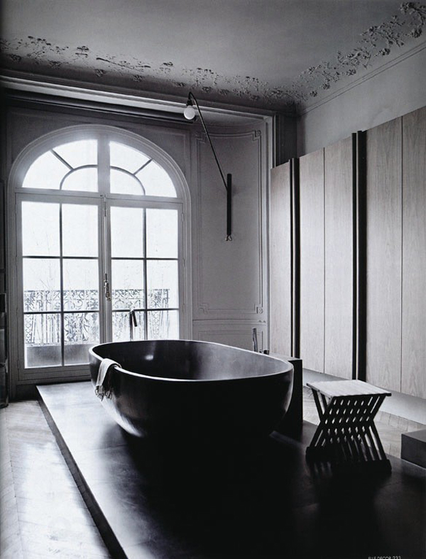 20 cool black bathtub with gothic influence home design
