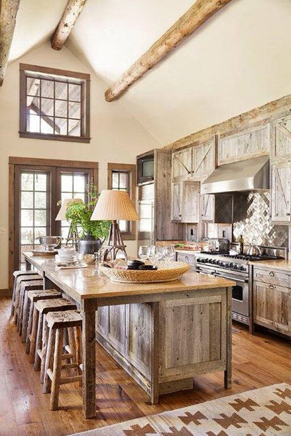 27 vintage kitchen design with rustic styles home design Rustic kitchen designs