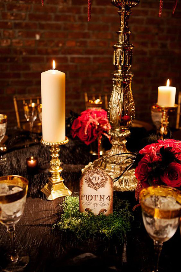 35 Elegant And Spooky Halloween Wedding Ideas Home