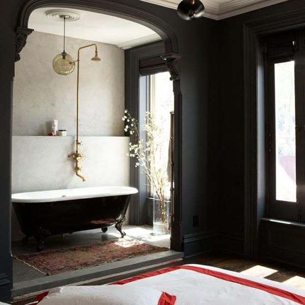 20 Cool Black Bathtub With Gothic Influence