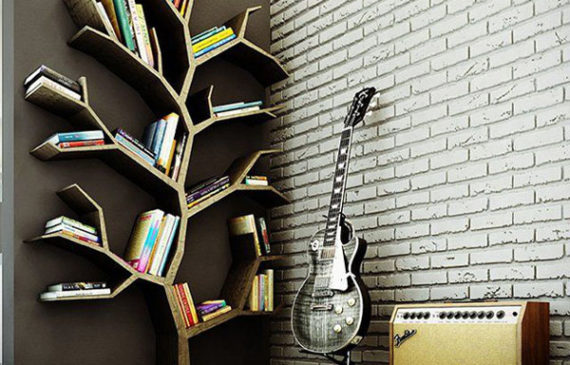 When We Talk About Bookshelves For Young Adult Certainly Is Not Far Away  With The Name Of Stylish, Simple But Still Look Cool.
