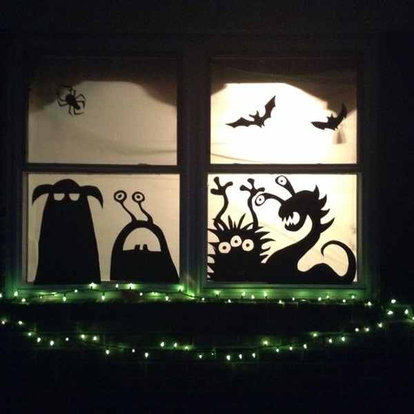 you might also like - Halloween Window Decor