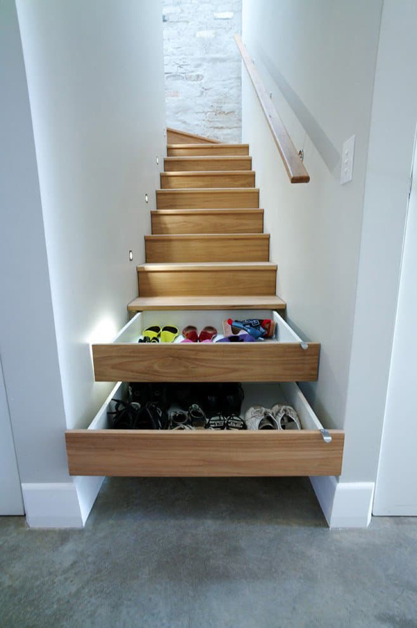 Hidden Staircase Storage Ideas Home Design And Interior