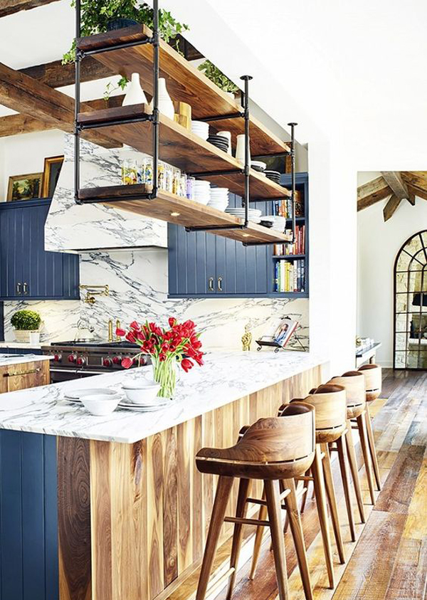 Amazing Vintage Kitchen Design With Rustic Styles Home Design And With Village  Style Home Design.