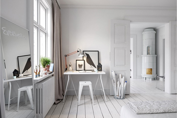 Think function, drawers and ladders, a good workspace with right storage  system. Find inspiration and clear your mind with workspace ideas below!