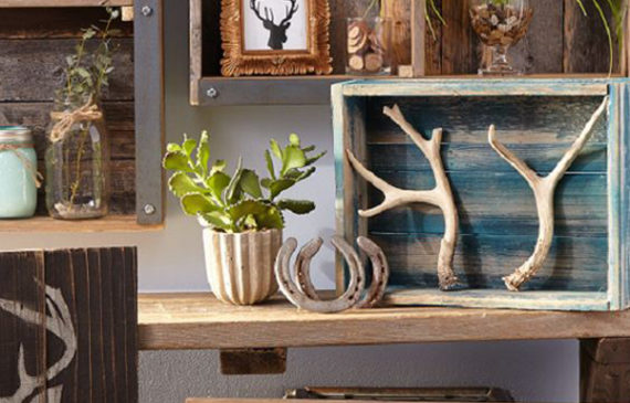 rustic-antler-decor-ideas