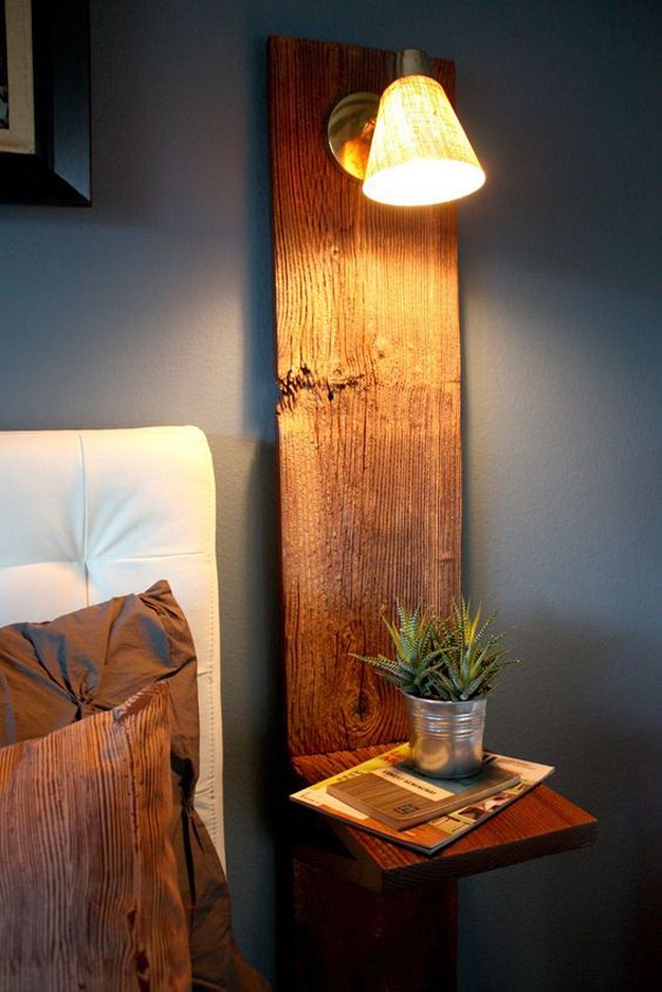 20 DIY Wooden Lamps With Modern Pieces