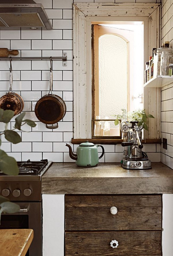 Image Result For Industrial Style Kitchen Furniture Uk