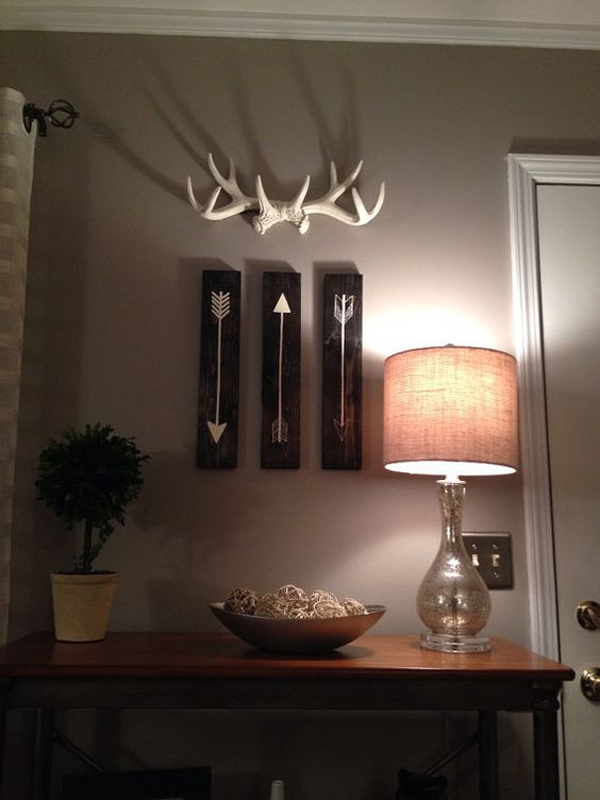 20 Cool And Trendy Antler Decorations Homemydesign