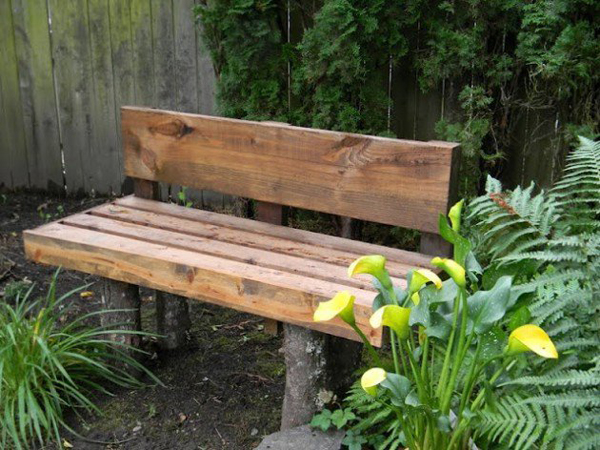 Wooden Diy Bench For Outdoor Furniture