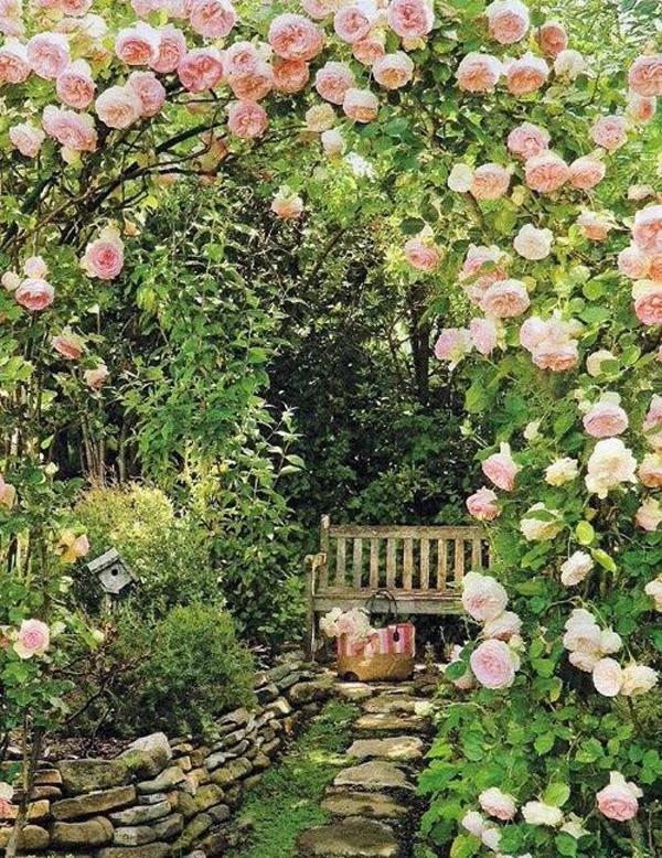 20 Outdoor Reading Nooks With The Secret Garden | HomeMydesign