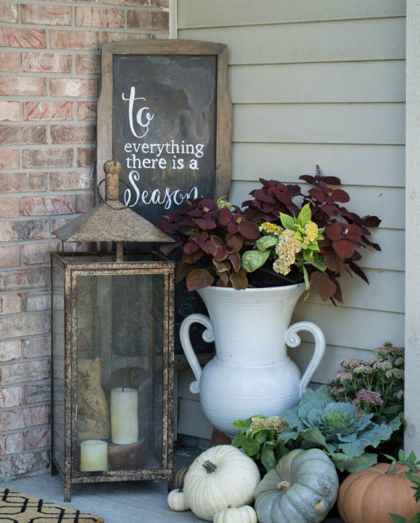 21 Most Unique Wood Home Decor Ideas: 25 DIY Fall Decor Ideas With Rustic Elements