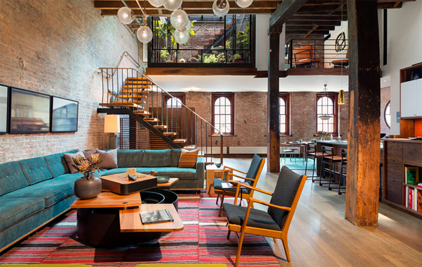 Stylish Tribeca Loft Located In New York Home Design And Interior