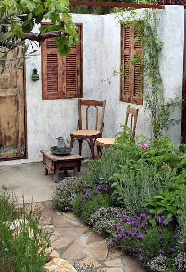 20 Outdoor Reading Nooks With The Secret Garden | HomeMydesign on Backyard Nook Ideas id=91904