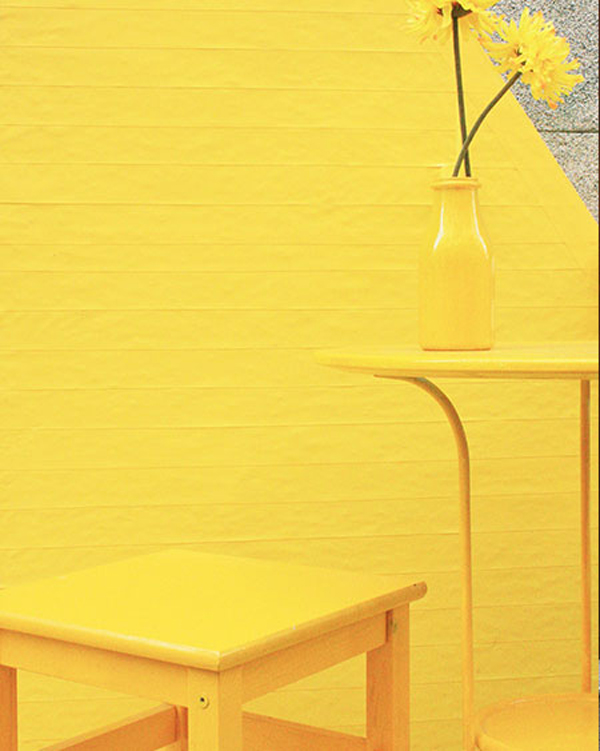 Yellow wall art furniture - Furniture for yellow walls ...
