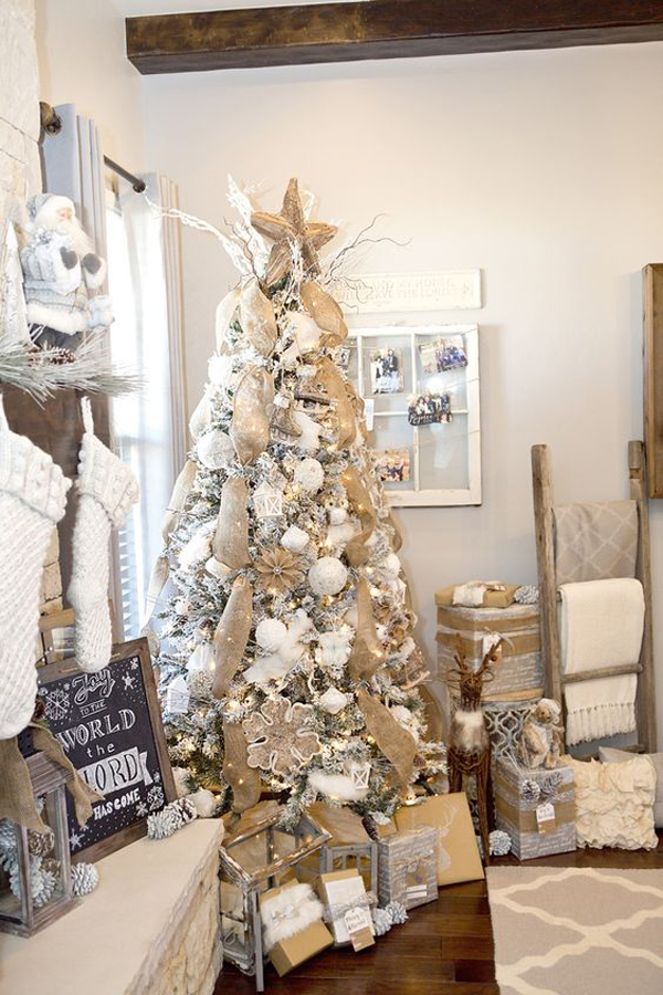 i have collected 35 white christmas tree ideas that will make your christmas a little differently this year maybe one of them is your choice - What Is A White Christmas