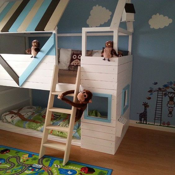 35 awesome ikea kura beds for kids home design and interior. Black Bedroom Furniture Sets. Home Design Ideas