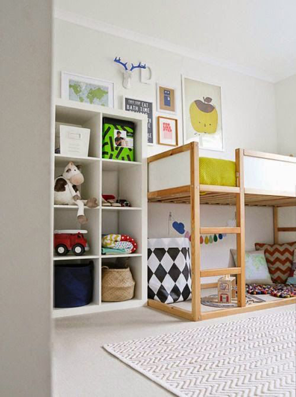 35 awesome ikea kura beds for kids home design and interior - Ikea bunk bed room ideas ...