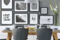 inspiring-dining-area-gallery-wall-ideas