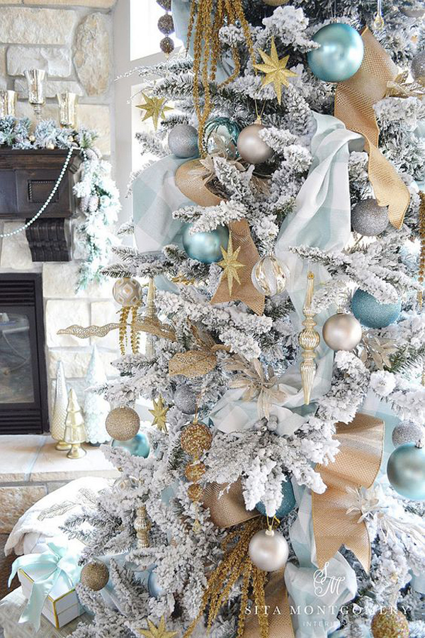 Luxury white christmas tree ornaments for White xmas decorations
