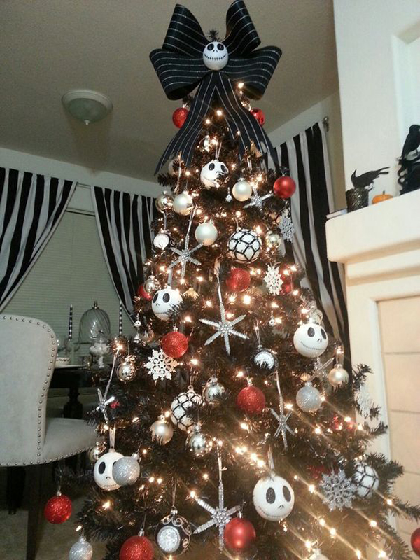 Nightmare Black Christmas Tree Ideas Home Design And Interior
