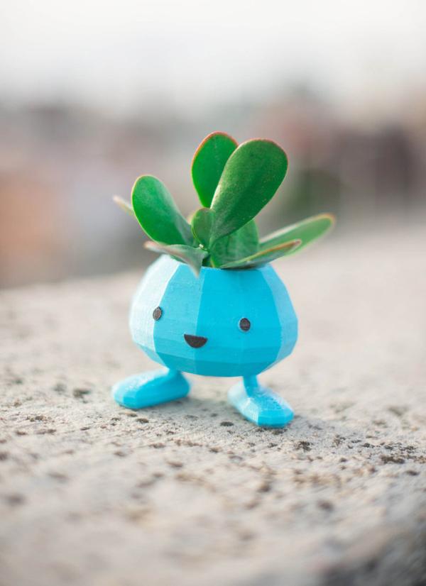 3d Printed Pokemon Planter Pots For Your Desk Home